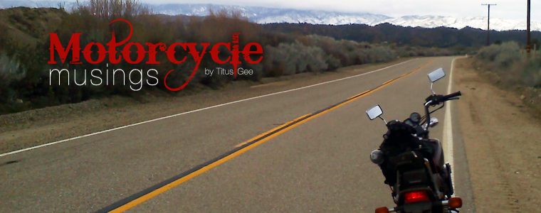 Post image for Motorcycle Musings — Sixteen: Wind