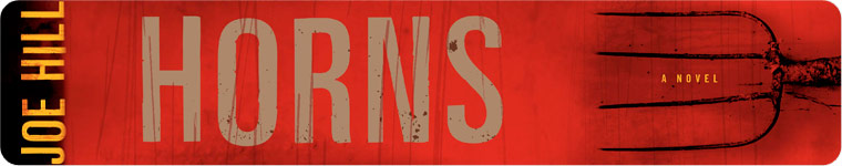 Post image for Book Review: Horns by Joe Hill