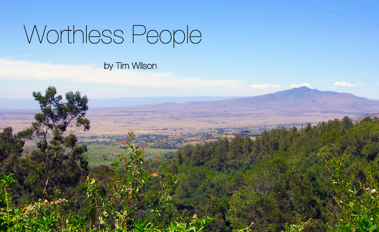 Post image for Fiction: Worthless People by Tim Wilson