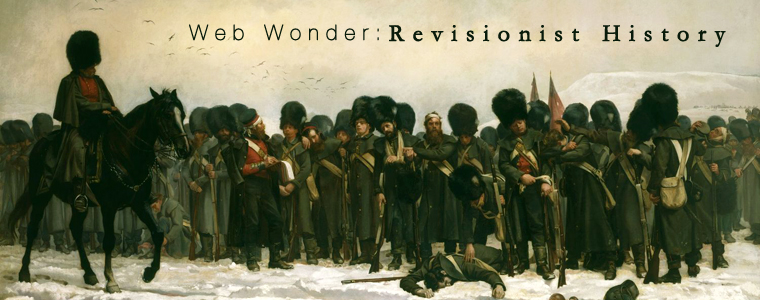 Post image for Web Wonder: Revisionist History