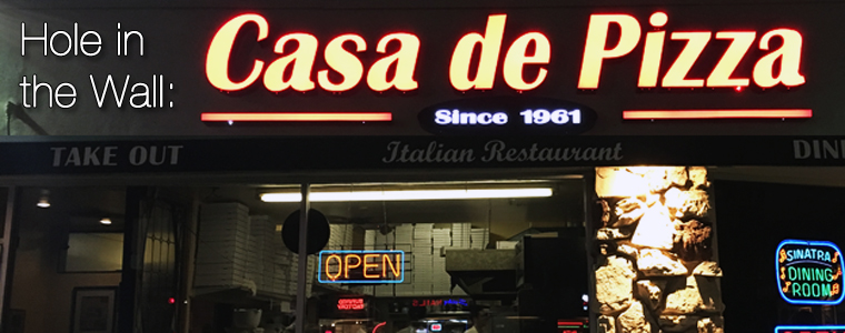 Post image for Hole in the Wall: Casa de Pizza